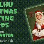 Cthulhu Christmas cards!