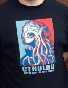 Vote For Cthulhu Shirt