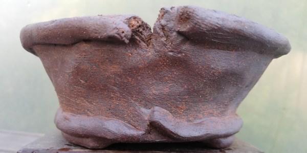 Nanban Stoneware Bonsai Pot