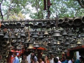 A bell for each wish fulfilled and each prayer answered
