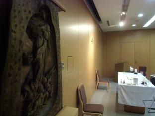 カトセン聖堂のマリア像