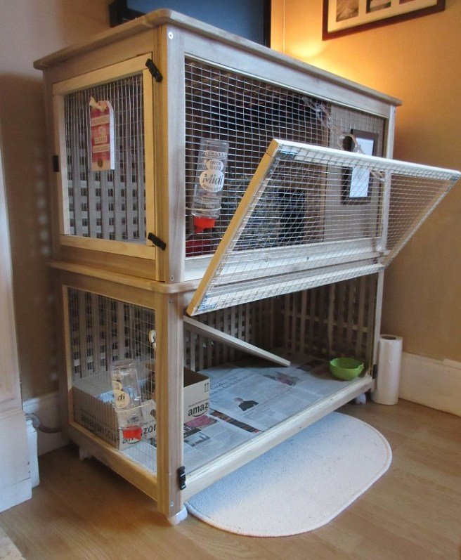 How To Make A Bunny Palace Ikea Hack Rabbit Cage Shona