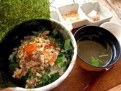 海鮮食事処江ノ島小屋のホロホロ丼