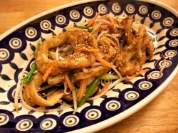 藤沢本町の創作沖縄料理「島結」のふーちゃんぷるー