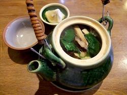 藤沢の老舗居酒屋久昇の秋メニュー松茸の土瓶蒸し