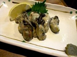 藤沢の老舗居酒屋久昇の秋メニュー焼き牡蠣