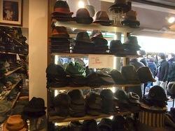 鎌倉小町通りの帽子専門店鎌倉帽子屋のハンチングやソフト帽