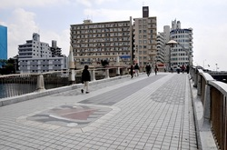 マンガコミック『ピンポン』の背景シーン&ロケ地の弁天橋