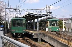 マンガコミック『ピンポン』の背景シーン&ロケ地の江ノ電鵠沼駅