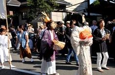 湘南・鎌倉の夏祭り&神輿渡御ピックアップ2014年御霊神社面掛行列