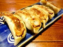 藤沢市善行の無化調ラーメン「ドラゴンキッチン」のギョウザ
