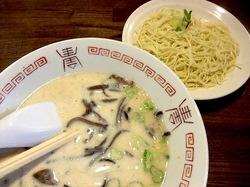 九州豚骨ラーメン哲麺の替え玉