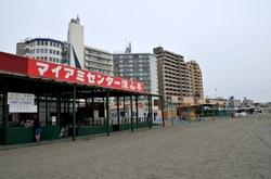 江ノ島片瀬海岸東浜海水浴場の海の家