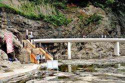 江ノ島のパワースポット江の島岩屋洞窟の遊歩道