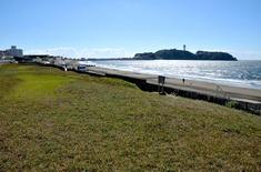 江の島花火大会203の穴場観覧スポット片瀬西浜の湘南海岸公園前