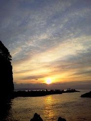 湘南江ノ島の初日の出オススメスポット裏磯