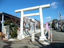 皇大神宮/烏森神社の鳥居