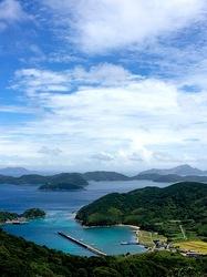 湘南藤沢から五島列島へ久賀島の折紙展望台