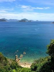 湘南藤沢から五島列島へ久賀島の五輪教会への途中