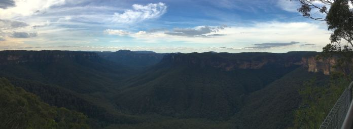 Panorama from Evans Lookout