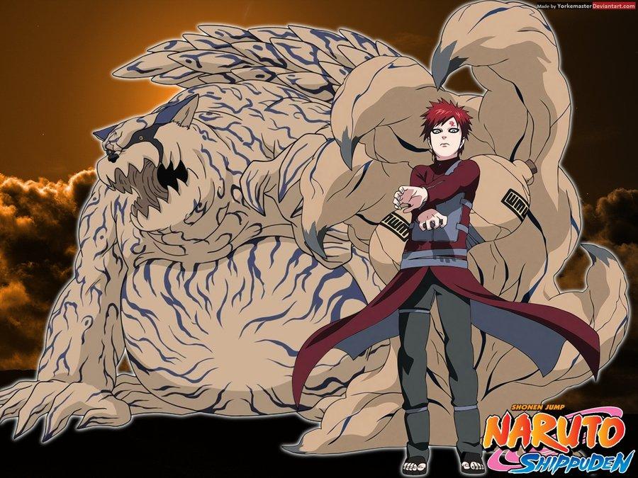 Gaara Awakens Shukaku In Naruto Storm Revolution (Scan