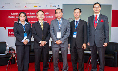 The Firm's head of Islamic Finance, Jal Othman (third from right).
