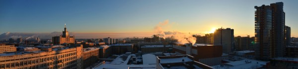 Рассвет над Челябинском