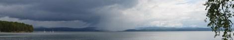 Тургояк. Дождь над Машгородком