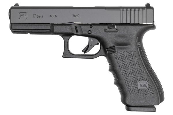 Glock 17 Gen 4 USA 15 Round Semi Auto Handgun 9mm MOS ...