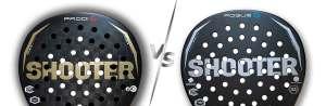 Lee más sobre el artículo Diferencias entre las palas de pádel SHOOTER PRODI G y ROGUE G