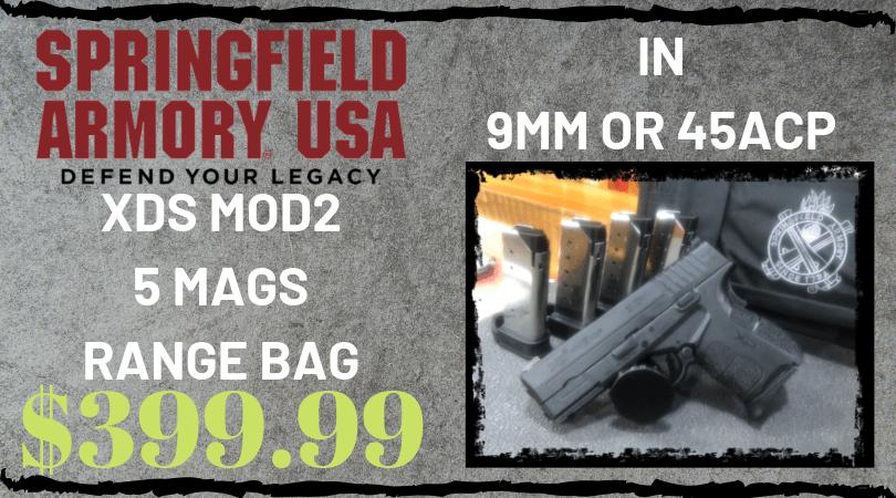 XDS MOD2 5 MAGS RANGE BAG