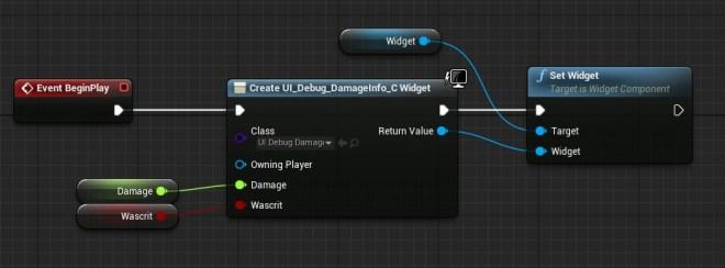 set widget
