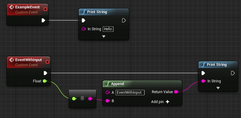 Ue4 tips calling events from console shooter tutorial ue4 tips calling events from console malvernweather Images
