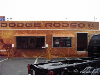 Dodge Trailer Shooting Gallery with Store