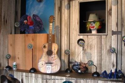 Dancing Guitar Dodge Rodeo