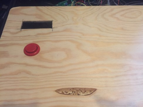 Added the LCD and start button