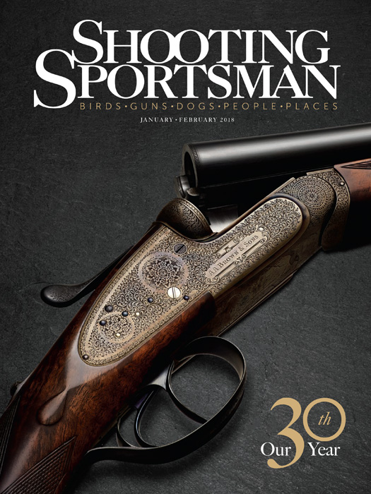 Shooting Sportsman Magazine - January/February 2018 cover