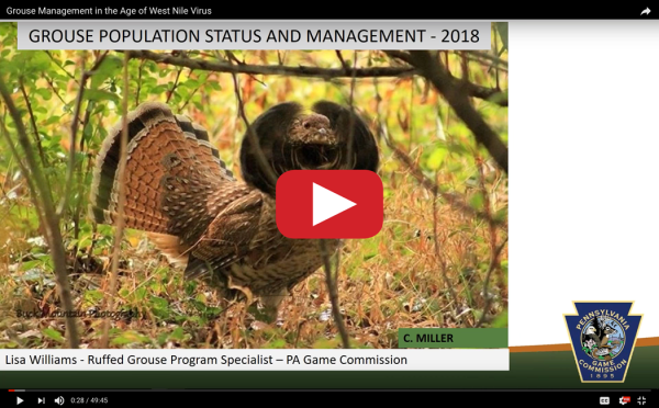 Conservation Grouse & West Nile Virus