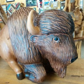 Buffalo sculpture by Scott Malinksy