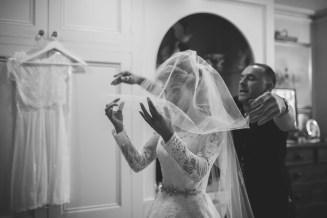 Final bridal preparation