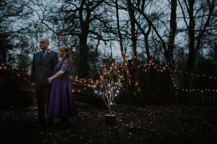 Dusk Sherwood Forest Wedding