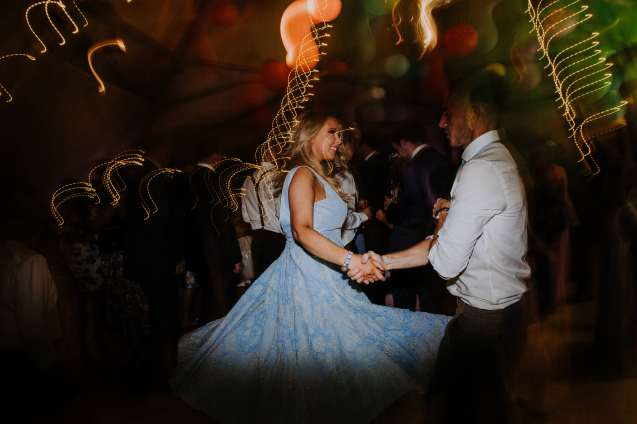 Tipi festival wedding dance
