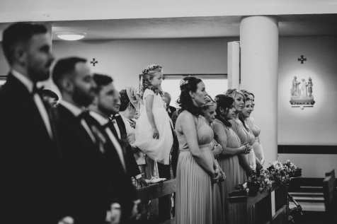 Irish Catholic wedding ceremony