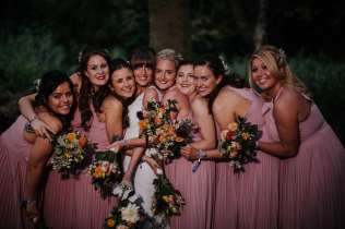 all the bridesmaids photo