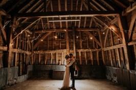 backlit barn photo