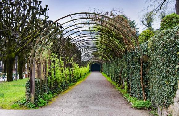 This way to the garden. Salzburg, Austria