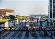 Train in Chicago.
