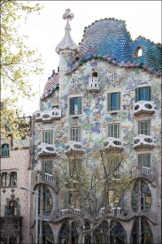 Gaudí's Casa Batlló, Barcelona.