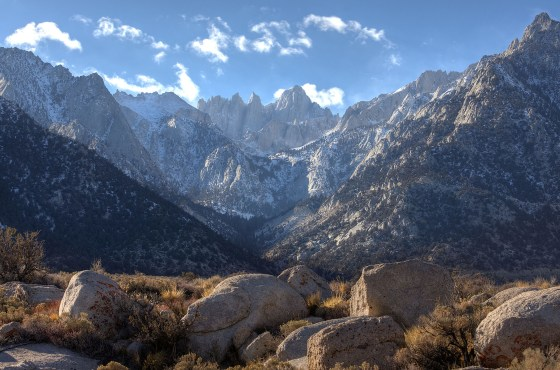 Eastern Sierra New Year 2015