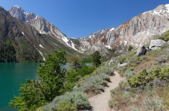 Hiking the Convict Lake Trail 2017